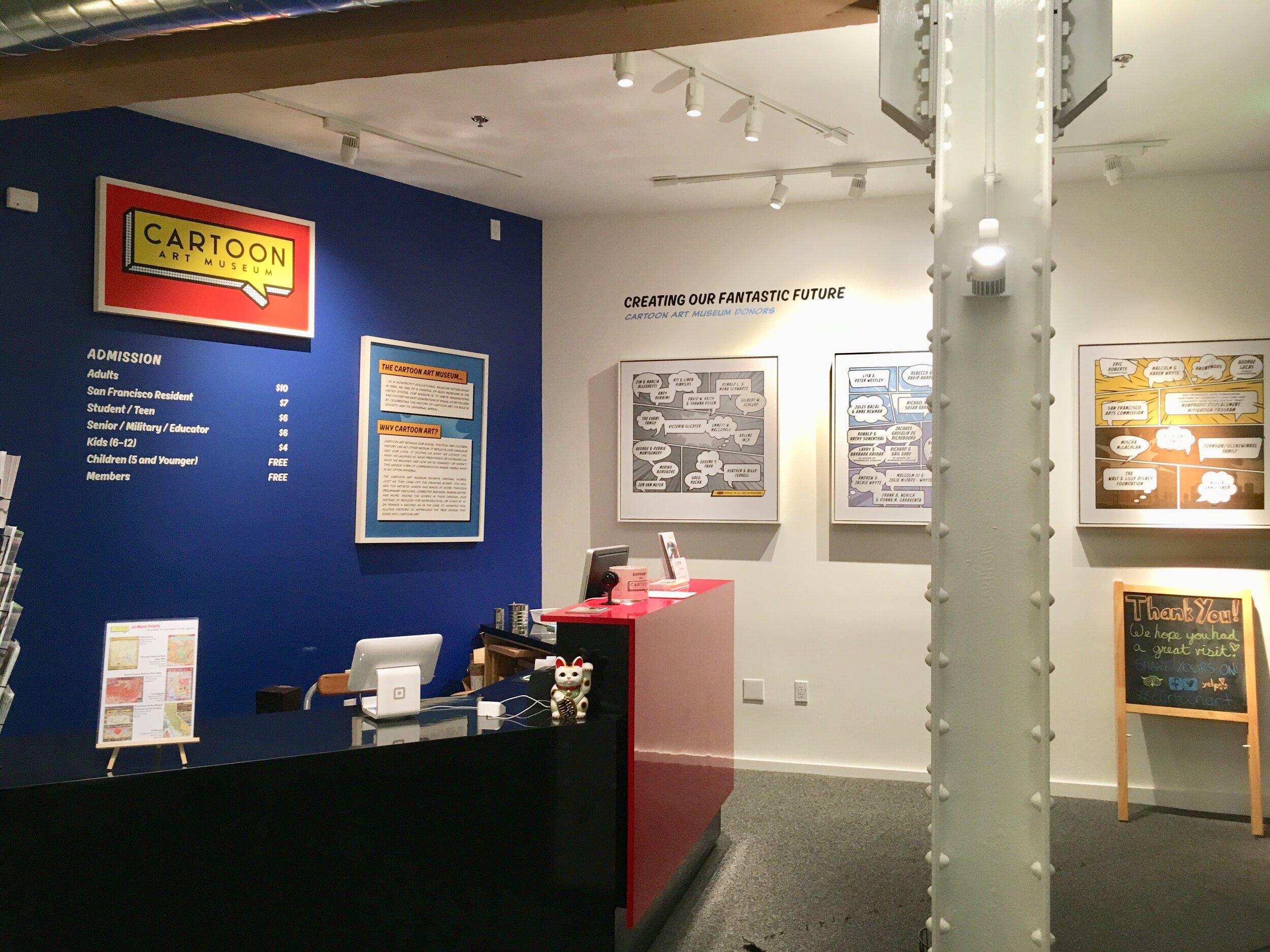 Visit Cartoon Art Museum