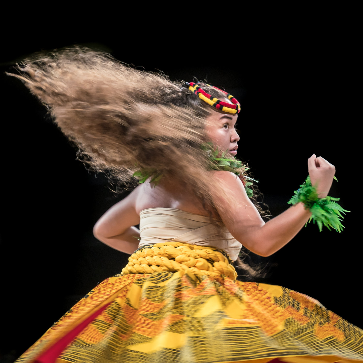 Miss Aloha Hula Merrie Monarch Competition Asialynn Genoa