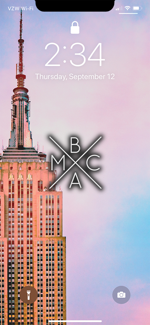 BMAC NYC WALLPAPER (LEFT) [W/ LOGO] EXAMPLE