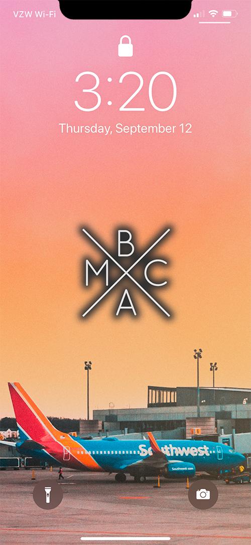 BMAC AIR WALLPAPER (W/ LOGO) EXAMPLE