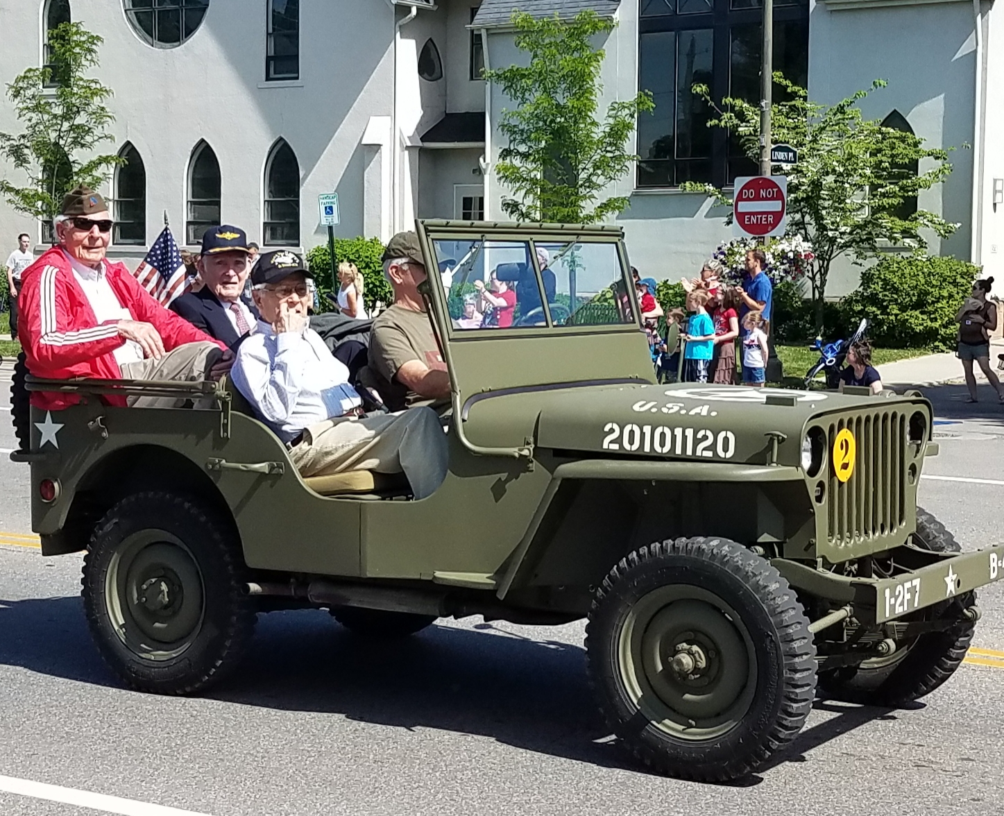 John Cassell was honored as one of Granville's Veterans and rode in the Memorial Day Parade on May 27!