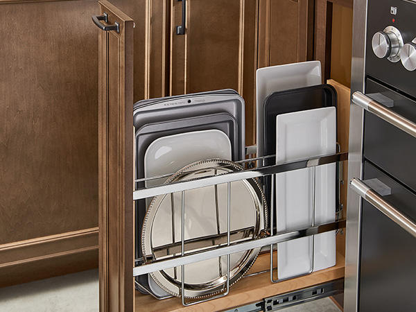 FULL HEIGHT BASE TRAY DIVIDER PULL OUT