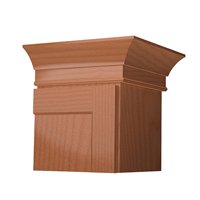 LARGE COVE MOLDING    FINISHED SOLID STOCK    SHAKER ACCENT MOLDING