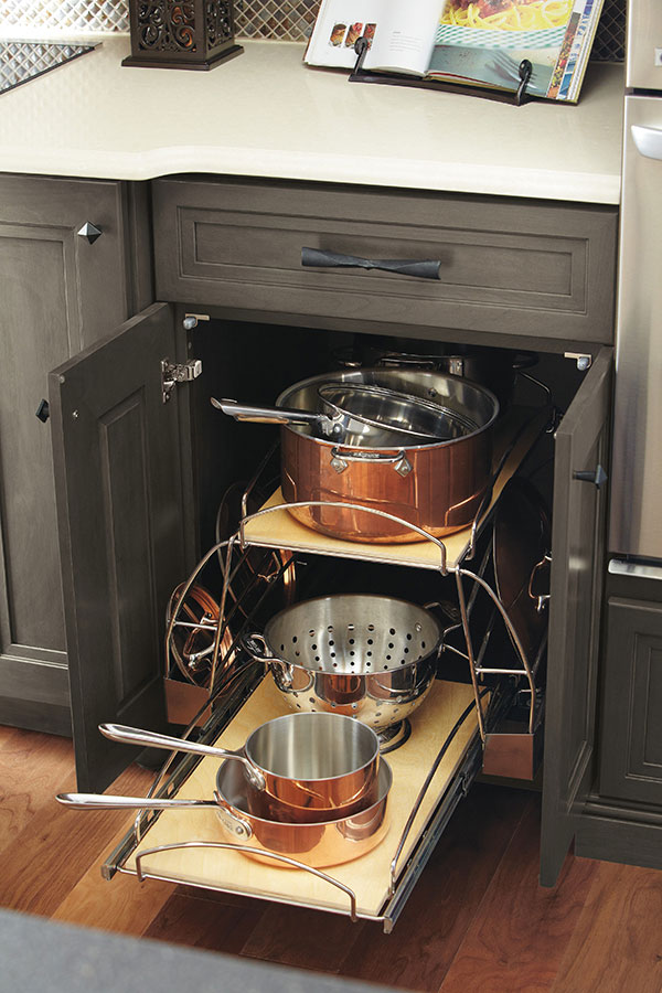 POTS AND PANS STORAGE PULLOUT