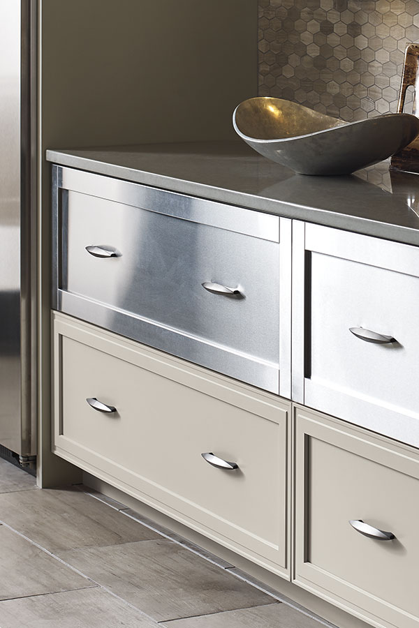 STAINLESS STEEL CABINET DRAWER FRONTS