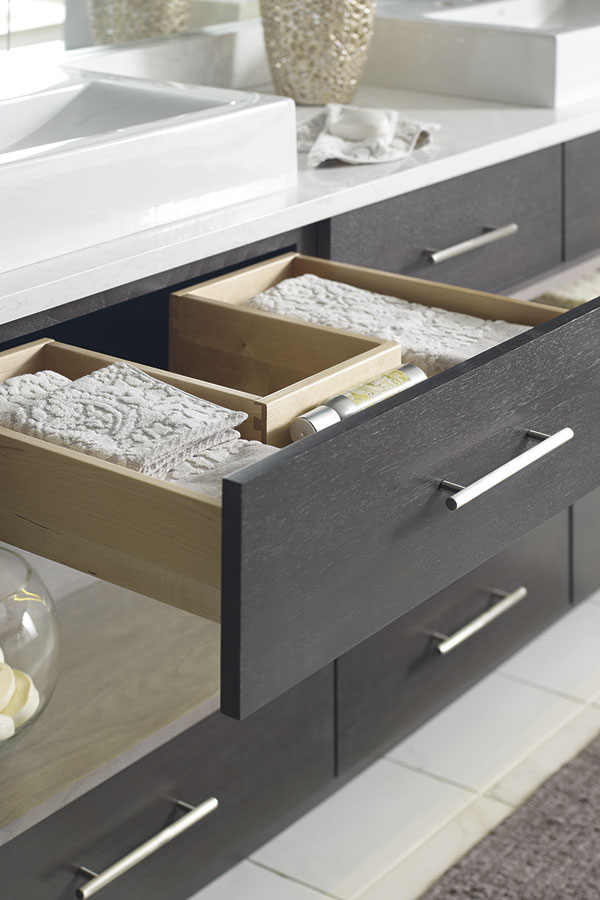 U-SHAPED CABINET DRAWER