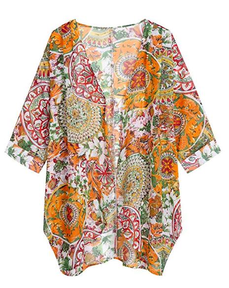 Summer Floral Kimono