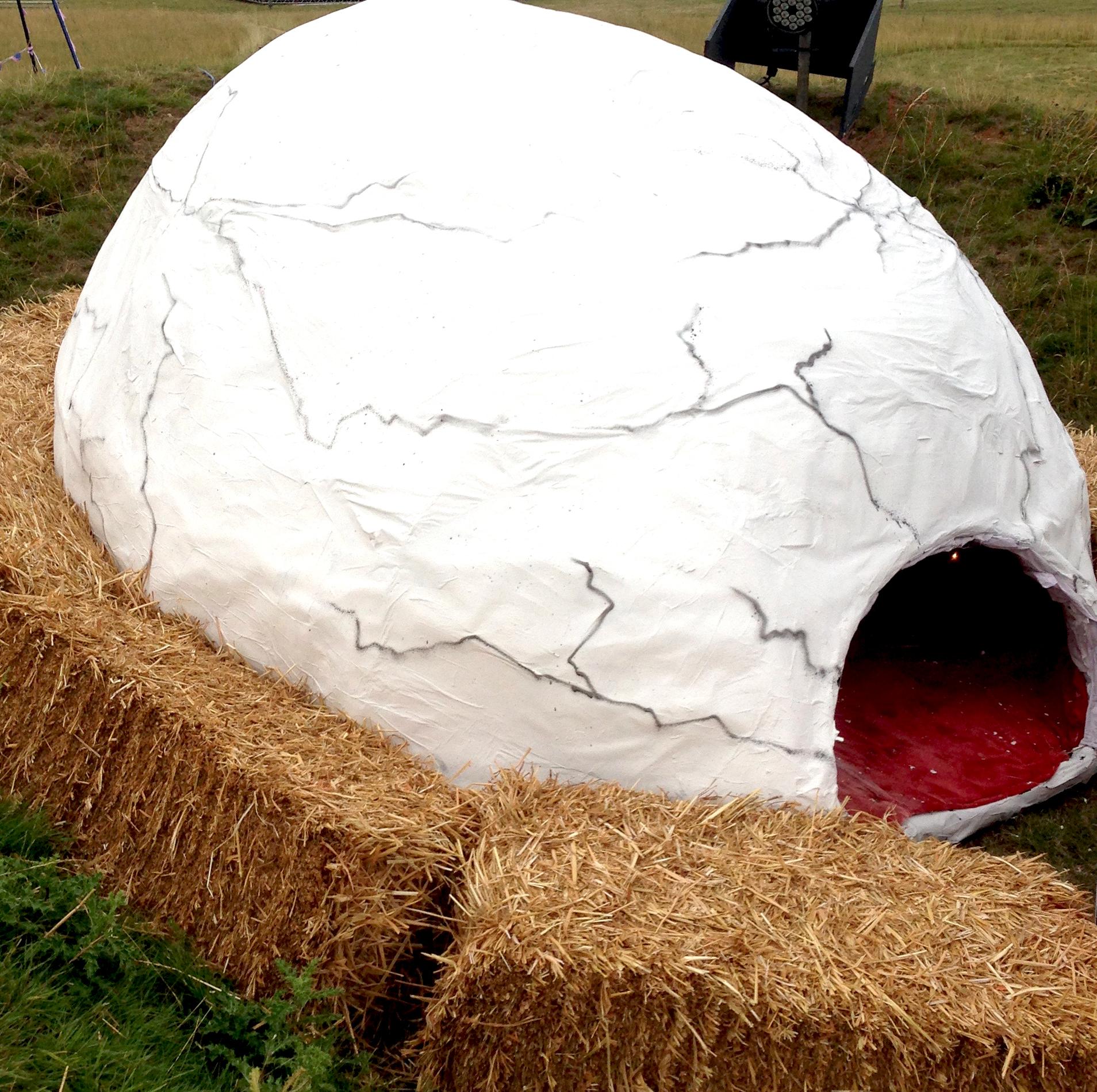 The Eggsperience - Installation