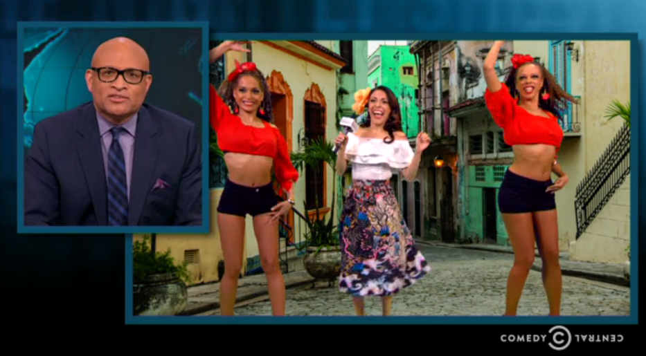 Television - Wow! PURE SAMBA performing on the Nightly Show with Larry Whilmore on Comedy Central for the Habana segment was muy caliente. Yes, we can rumba too!