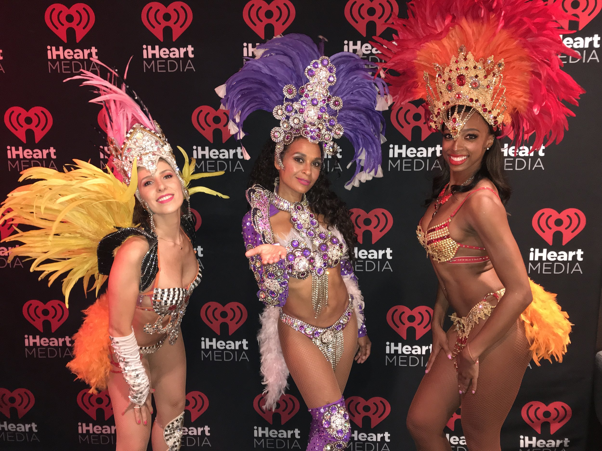 "Tudo Bom - Yes! Everything is Tudo Bom. PURE SAMBA lending our Brazilian touch to premier this new international hit for the i Heart Radio Media conference. ""Tudo Bom"""