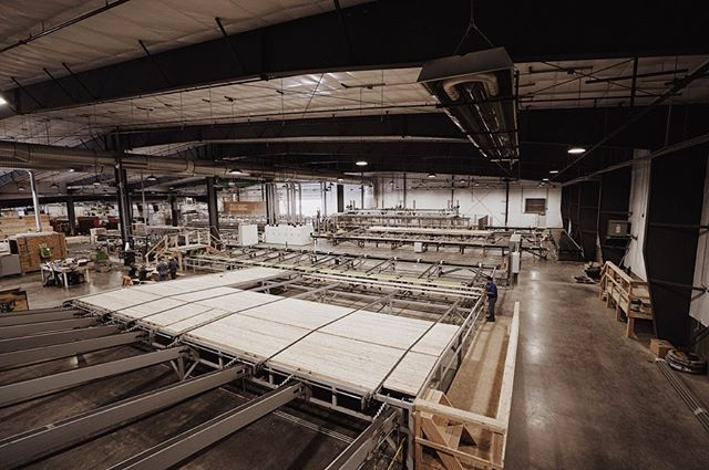 Vaagen Timbers' new production facility is largely automated to produce unparalleled mass timber products efficiently.