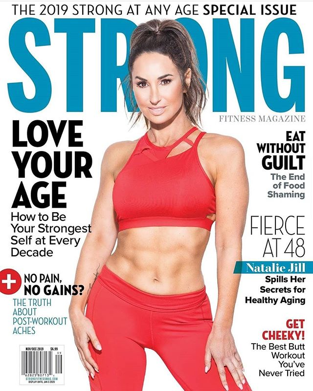 New cover work with my dear client @nataliejillfit 🔥🔥🔥 Nov/Dec issue @jpatrickphoto @strongfitnessmag