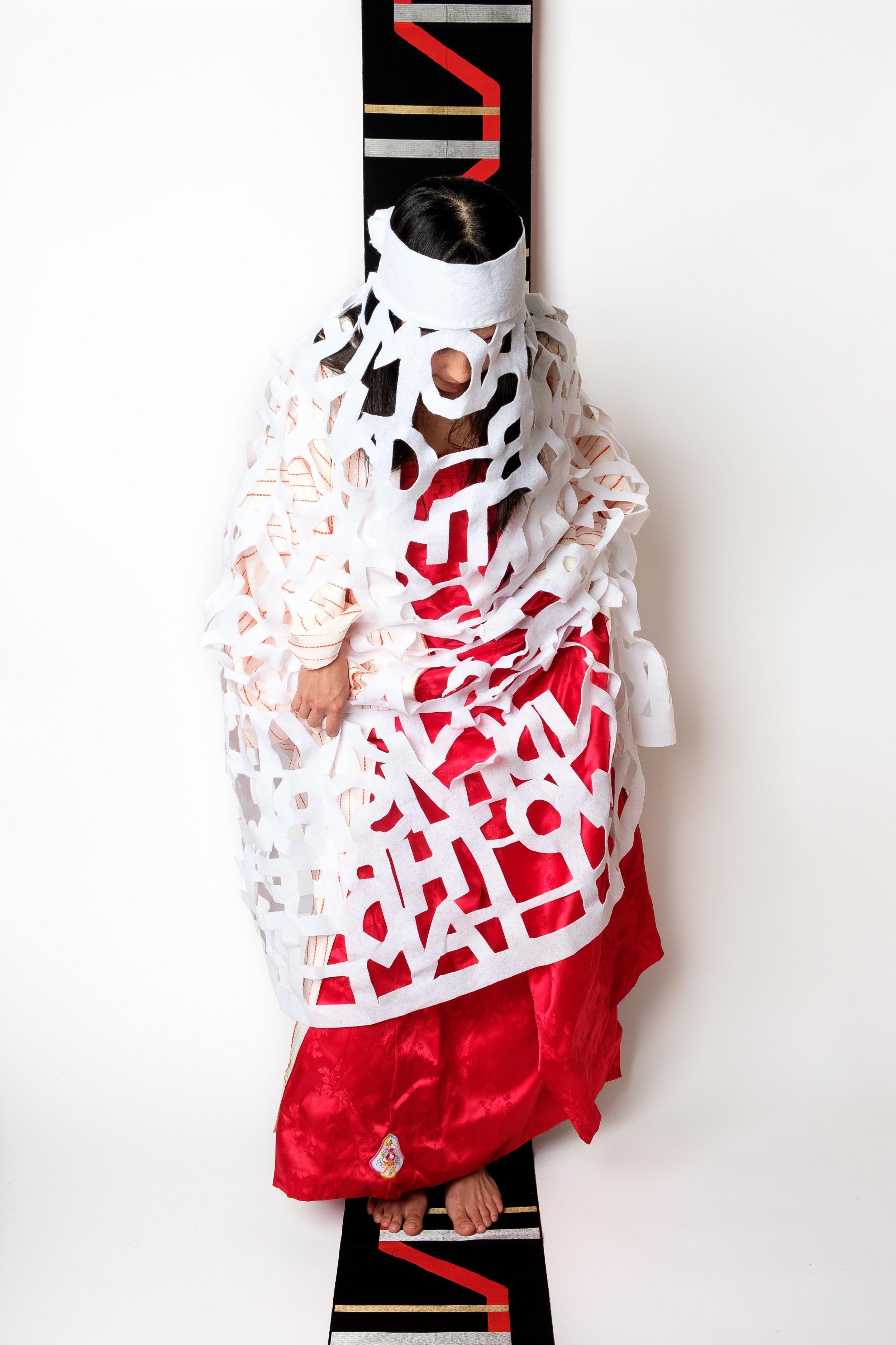 Veil, Chima, Kimono, Obi