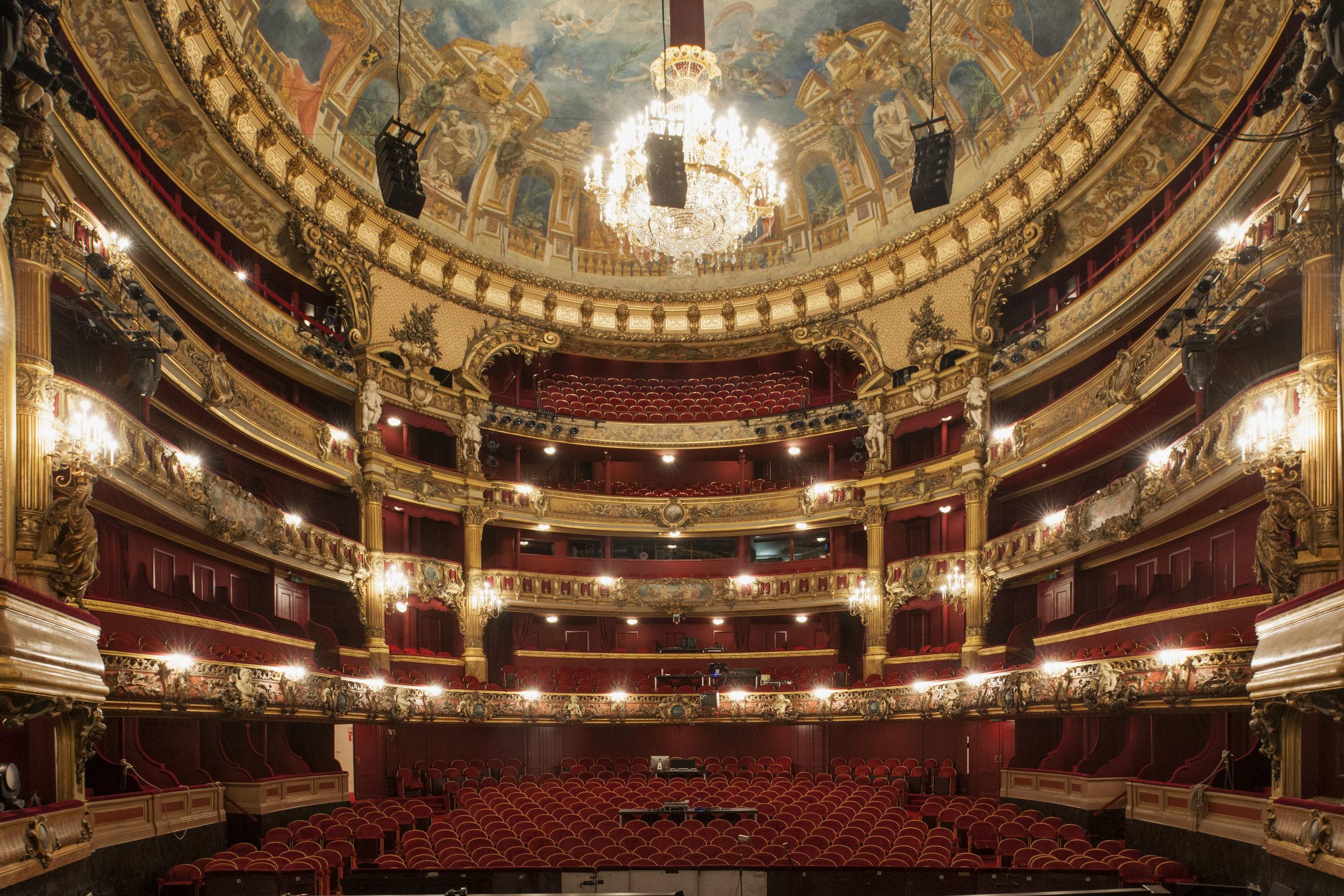 Théâtre Royal de la Monnaie; Brussels, Belgium