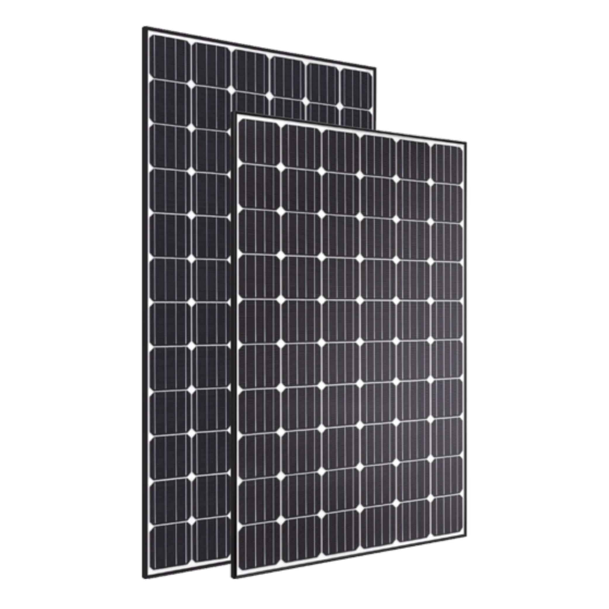Black Hyundai Solar Panels