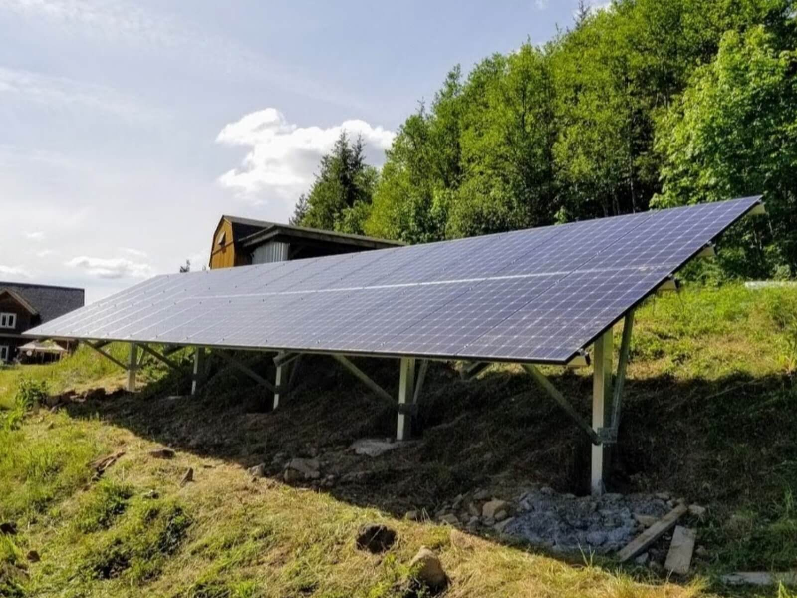 Stand Alone - Standalone systems are designed to stand independent of the power grid and use batteries to store energy. Standalone systems are usually used in remote locations away from the energy grid.