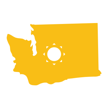 washington solar icon
