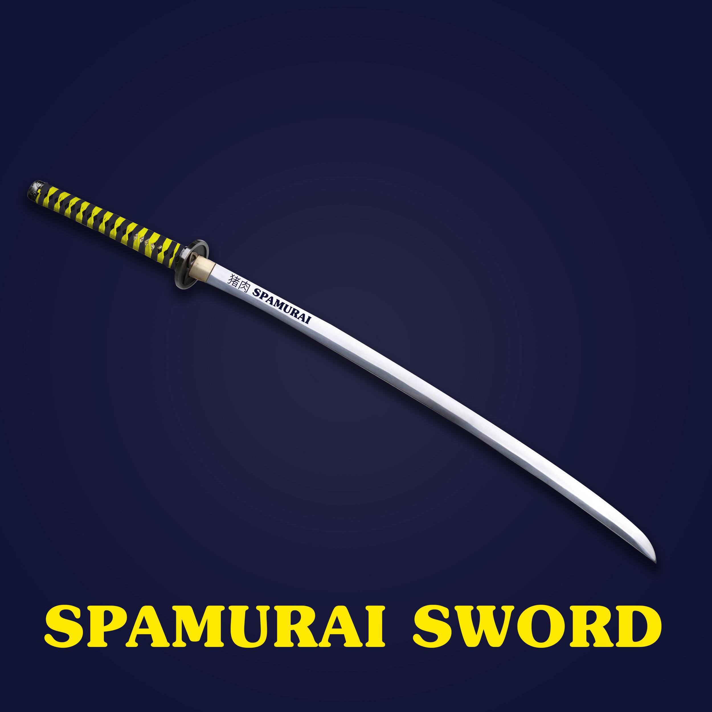 Spam prizes Spamurai Sword.jpg