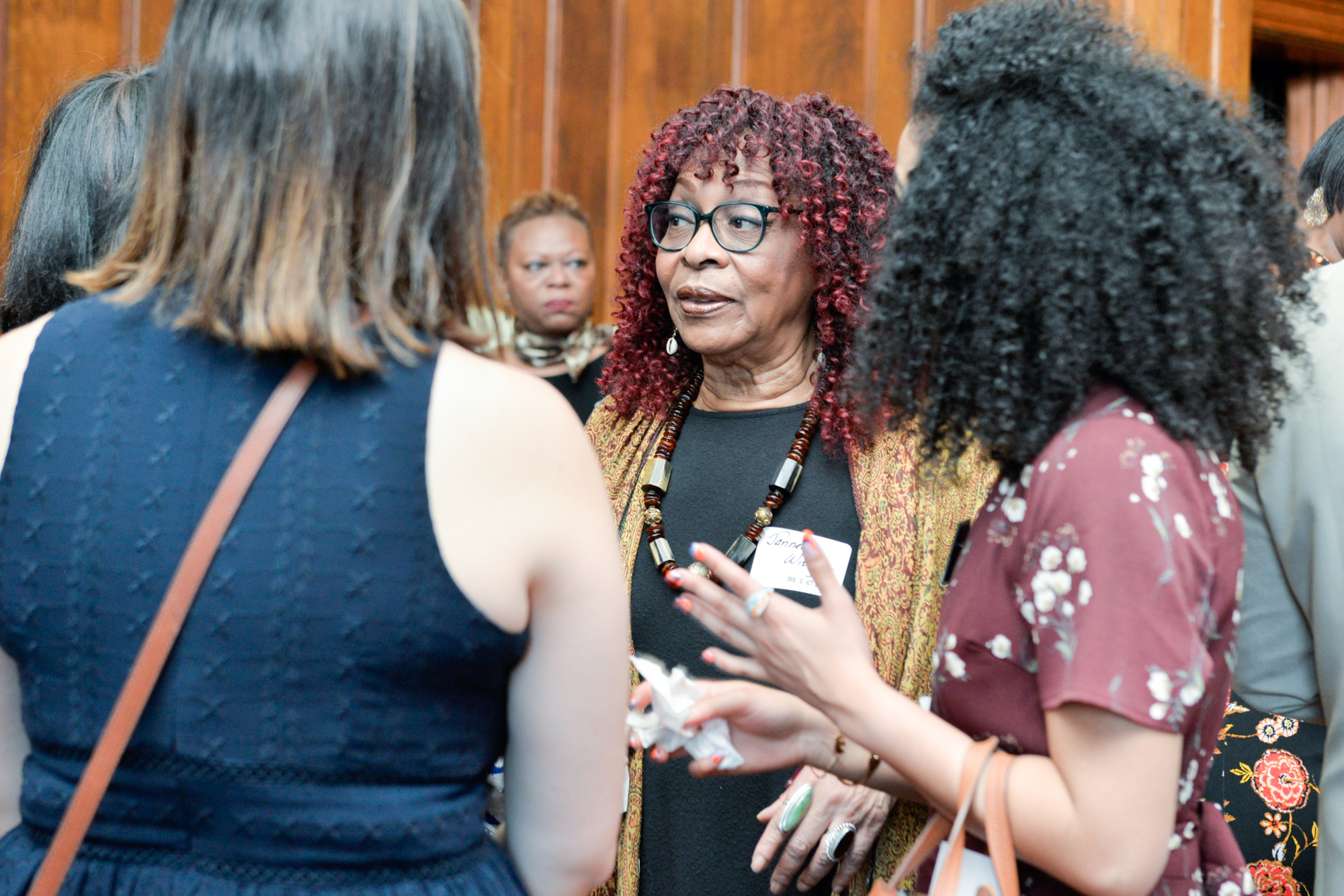 Center: Jeanette Whitney, Supporter