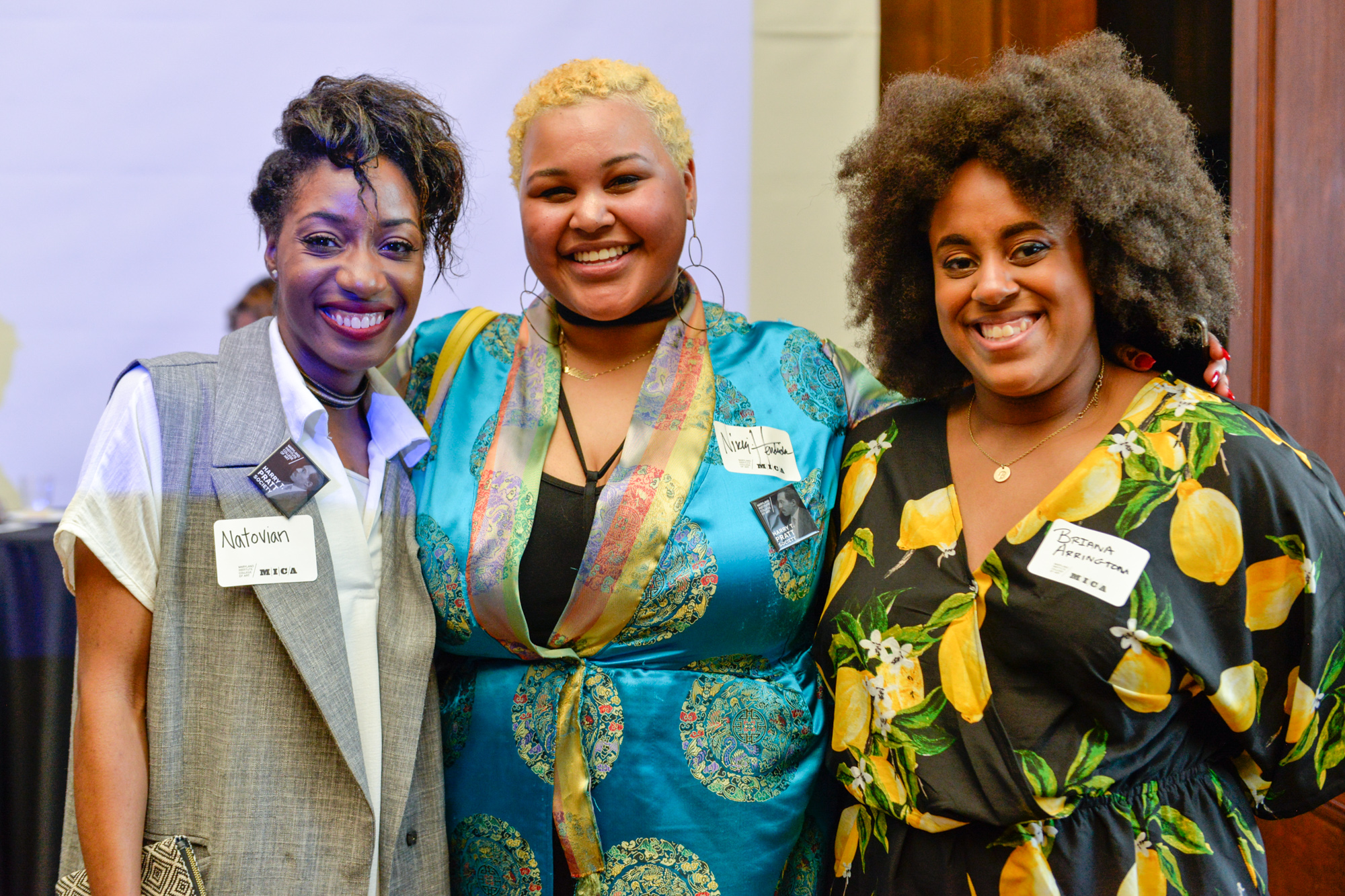 Left to Right:   Natorian McLeod  Nikki Hendricks  Briana Arrington