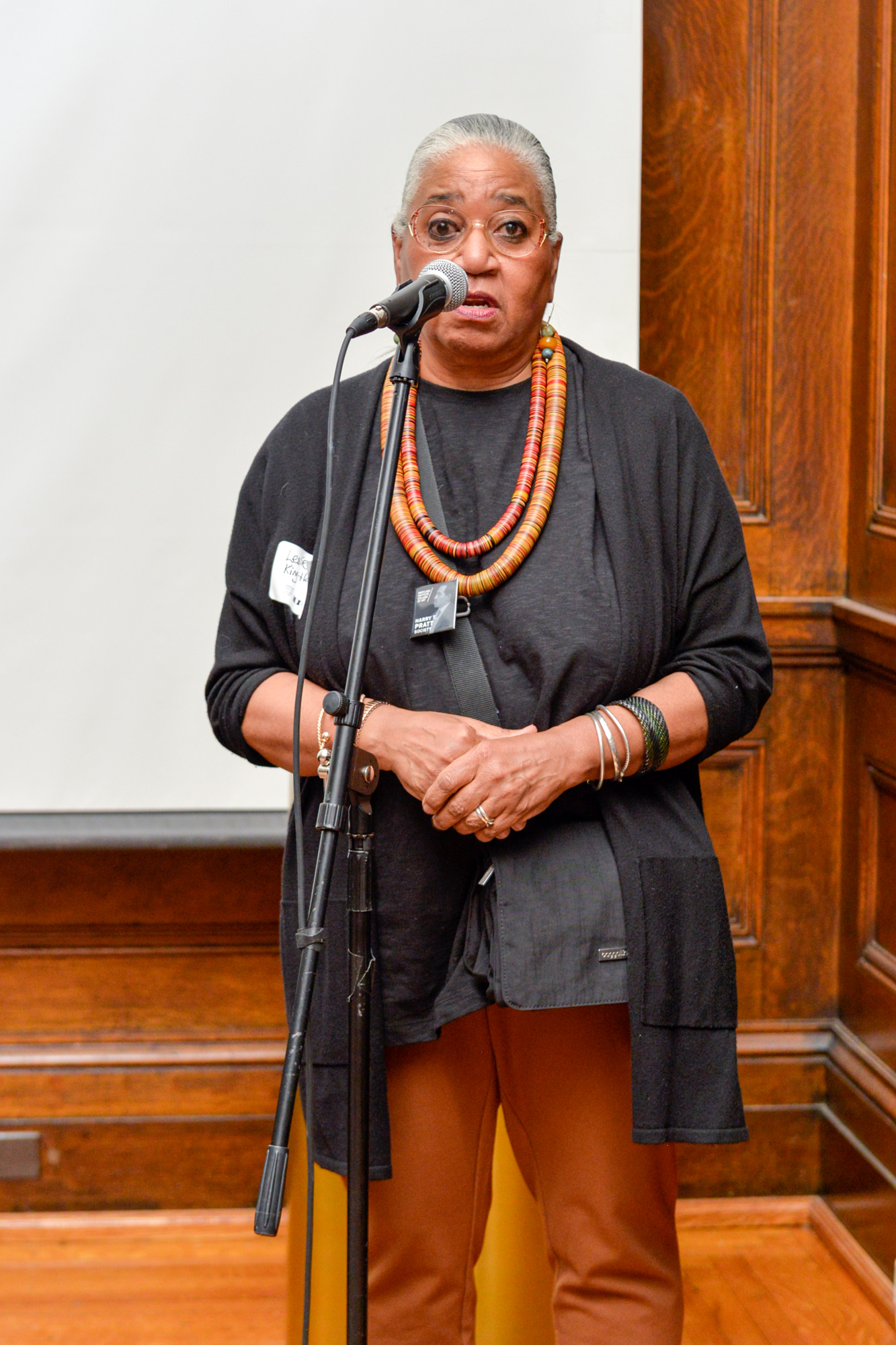 Dr. Leslie King-Hammond, Graduate Dean Emeritus, Former Director of Center For Race and Culture