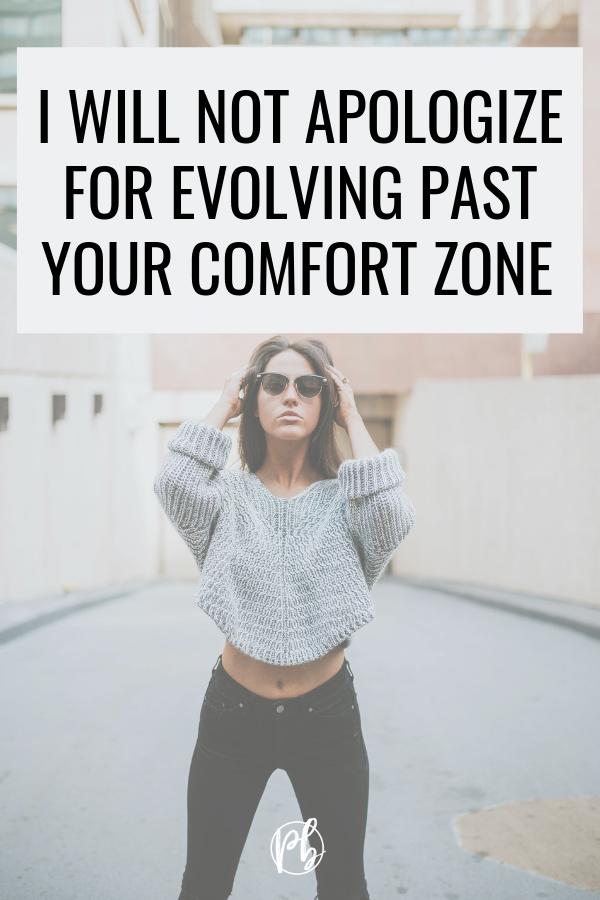 Past Your Comfort Zone