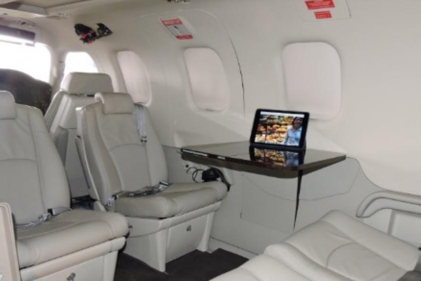 Daher TBM 850 Interior