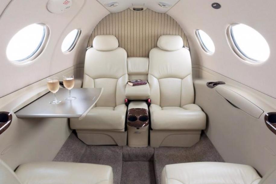 Cessna Citation Mustang Interior