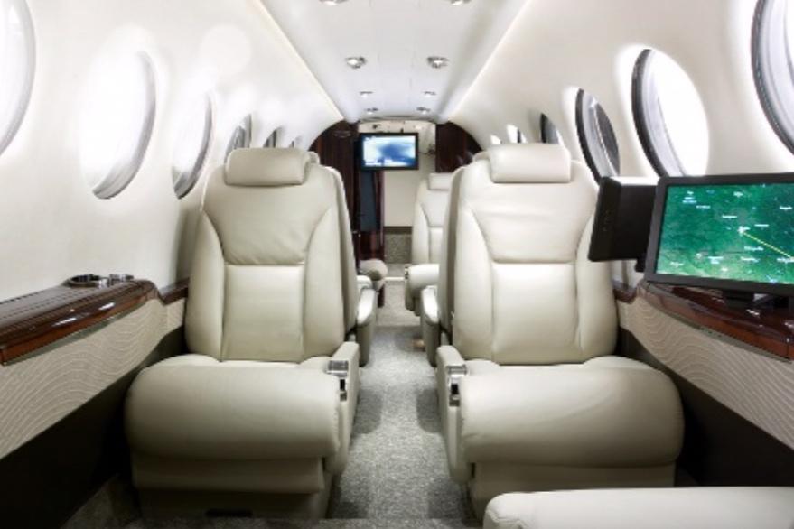 Beechcraft King Air B350 Interior