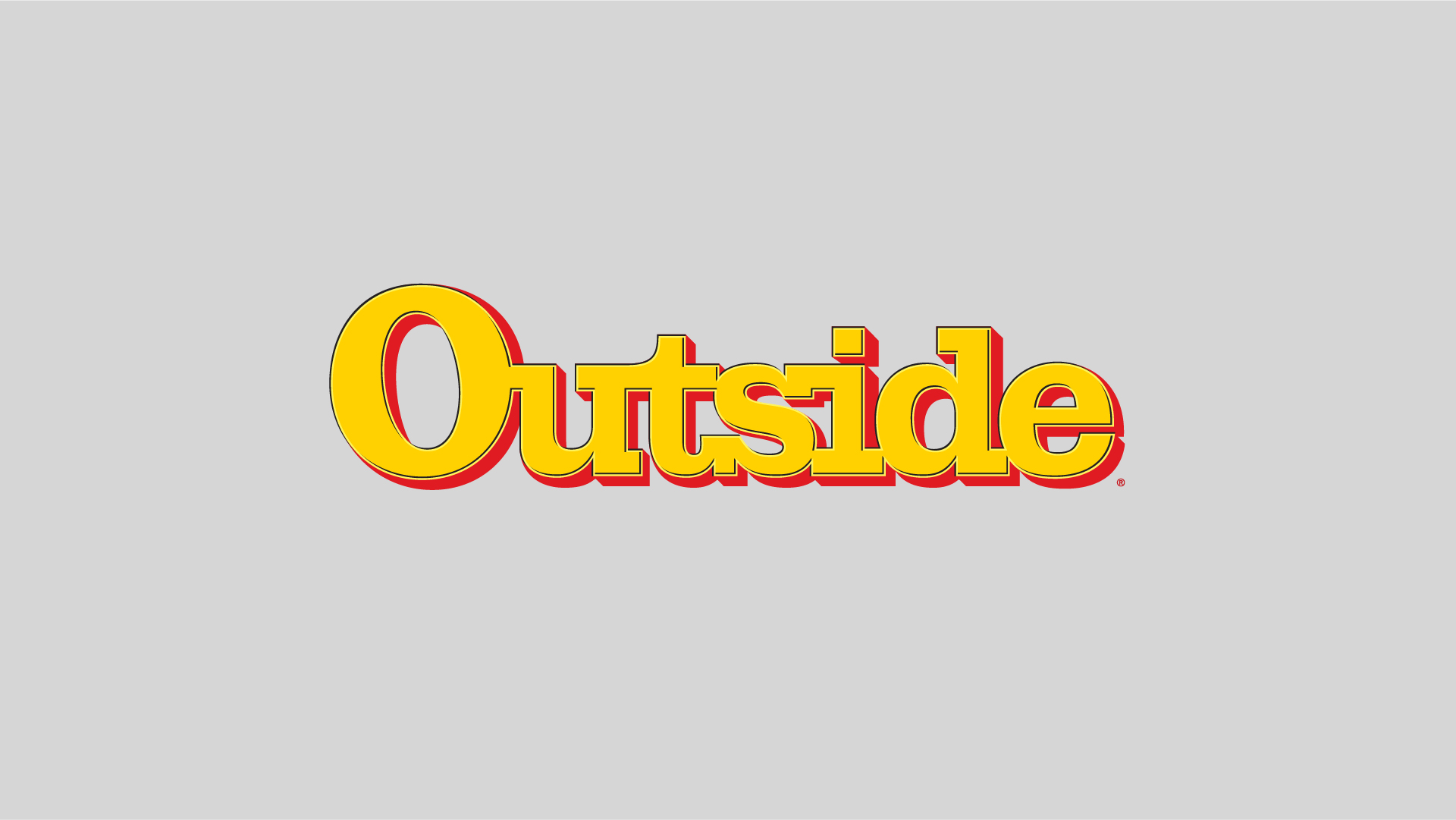 Outside Magazine - Logo animation, graphics package