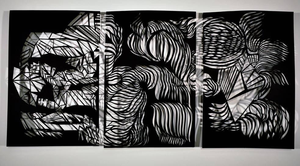 """Triptych #1  – 24"""" x 56"""""""