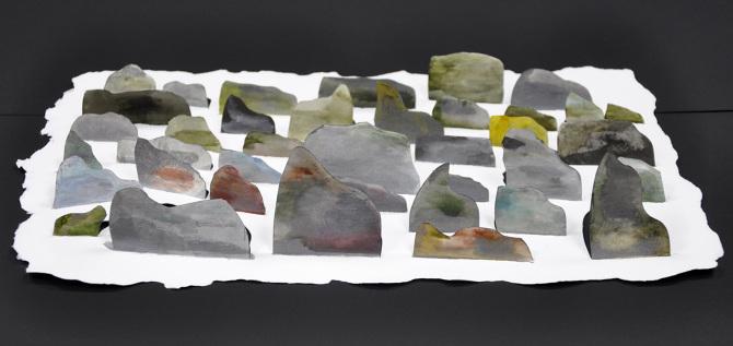 "Rocks  – 10"" x 15"" x 2"""