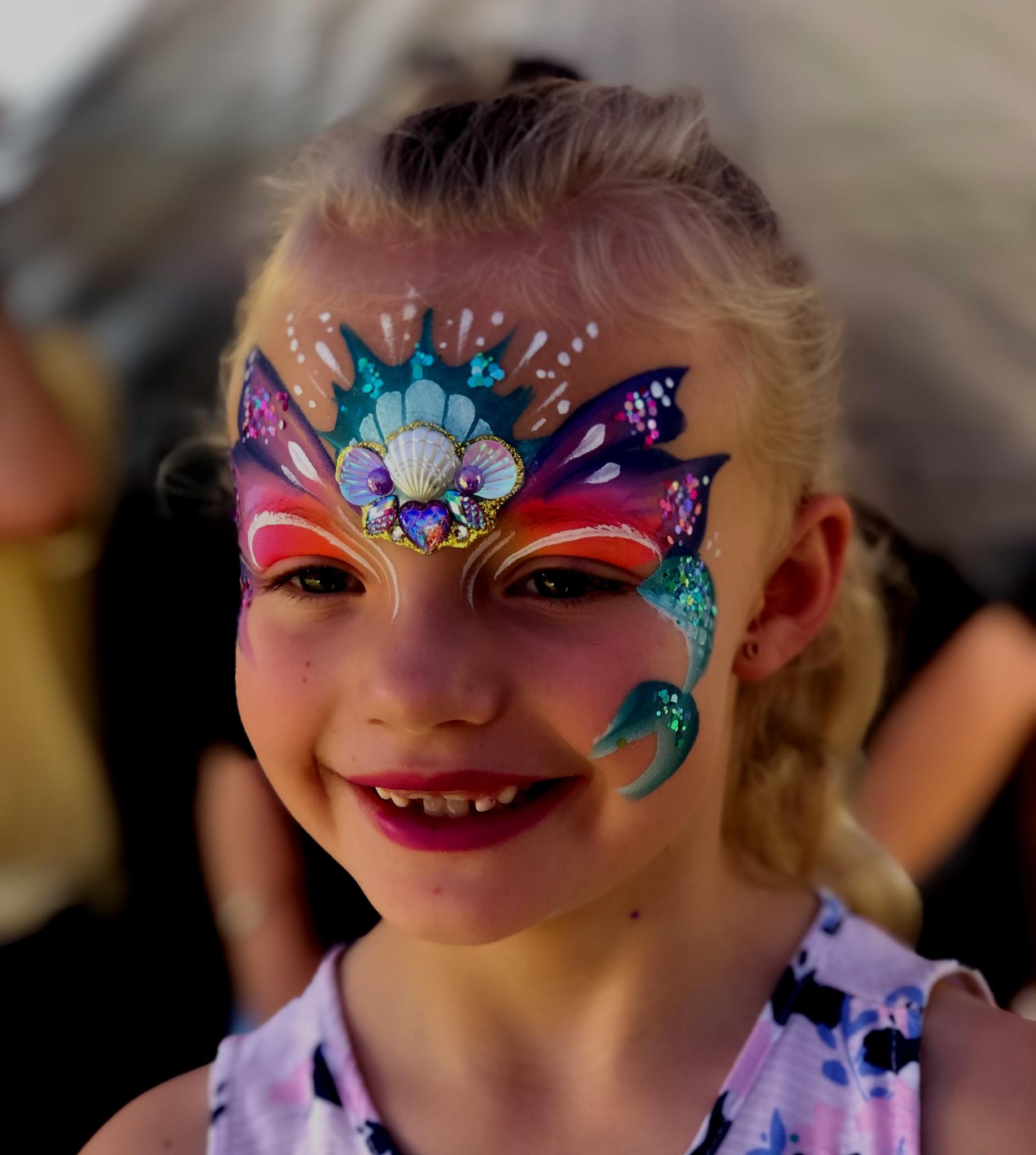 Melissa K Face Painting Brisbane Website Design -