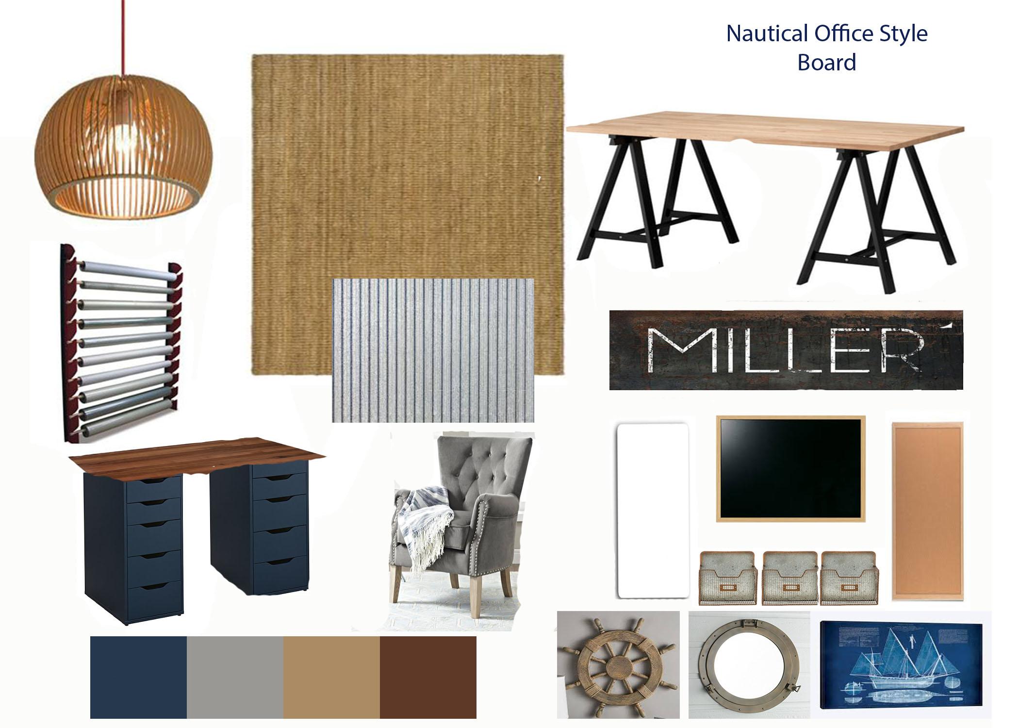 Zervas Nautical Office Design Grace