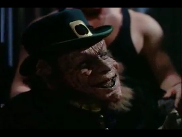And, for a brief moment, we're left to wonder: at what point does Kowalski's pee-paw end, and the leprechaun begin?