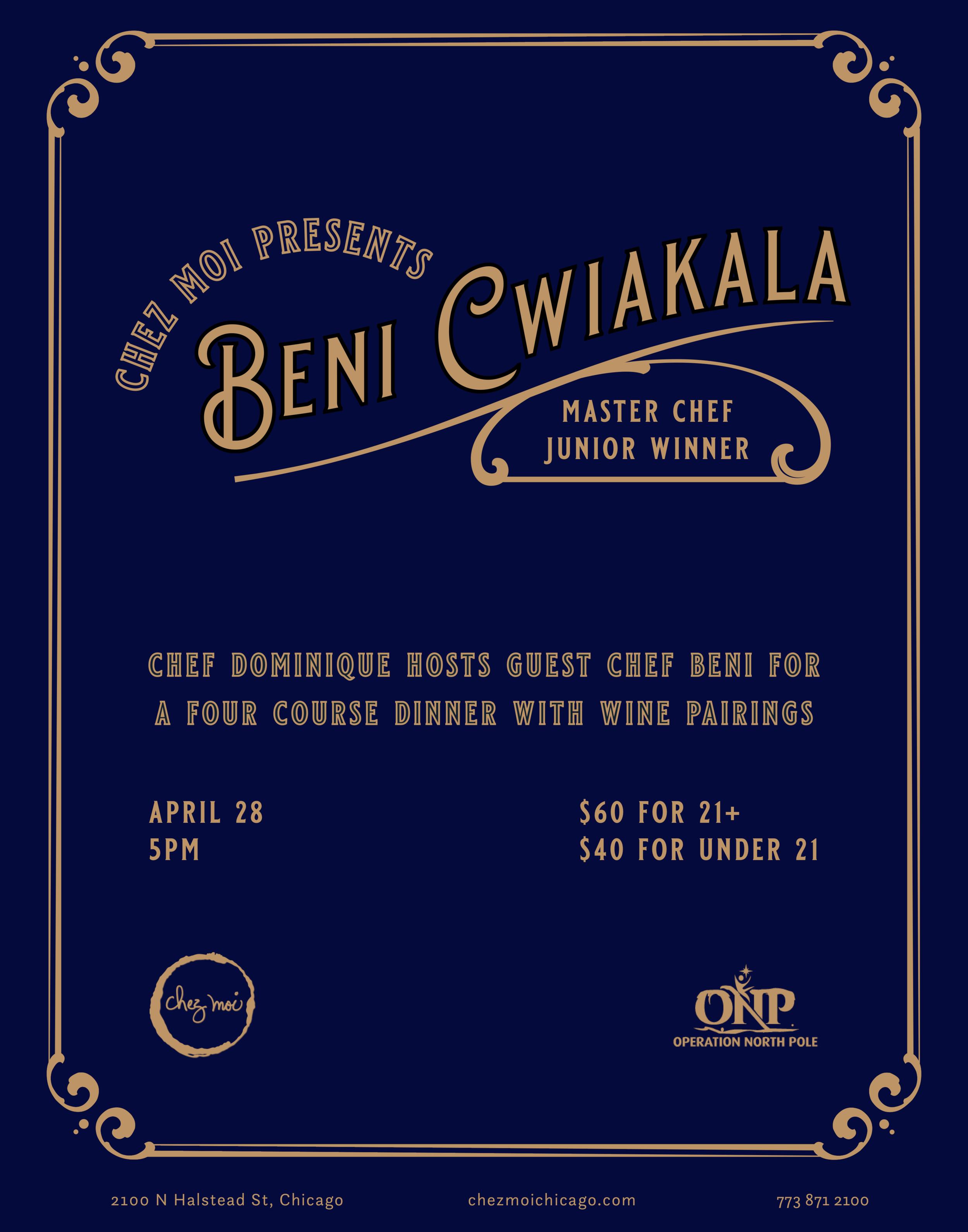 Beni Dinner Poster.png