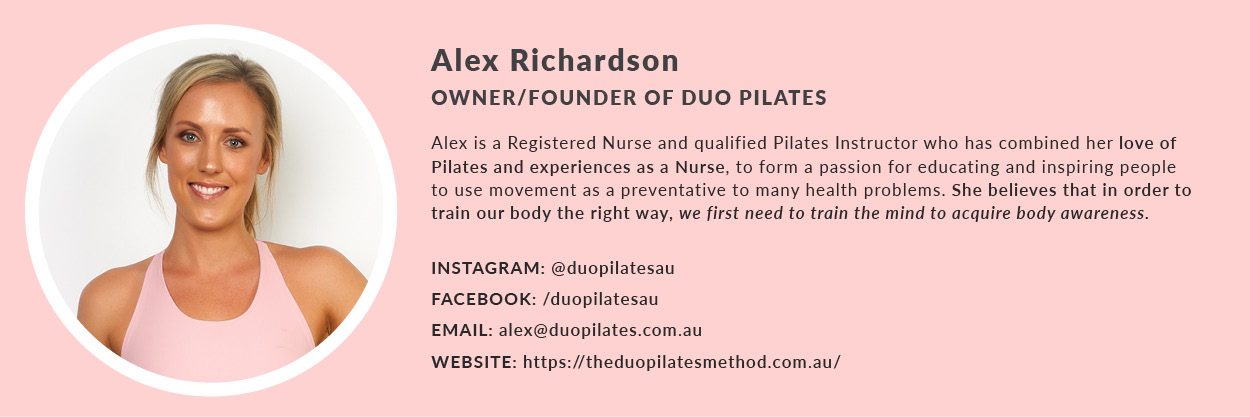 Alex from Duo Pilates describes how flight attendants can use pilates for body aches and pains.