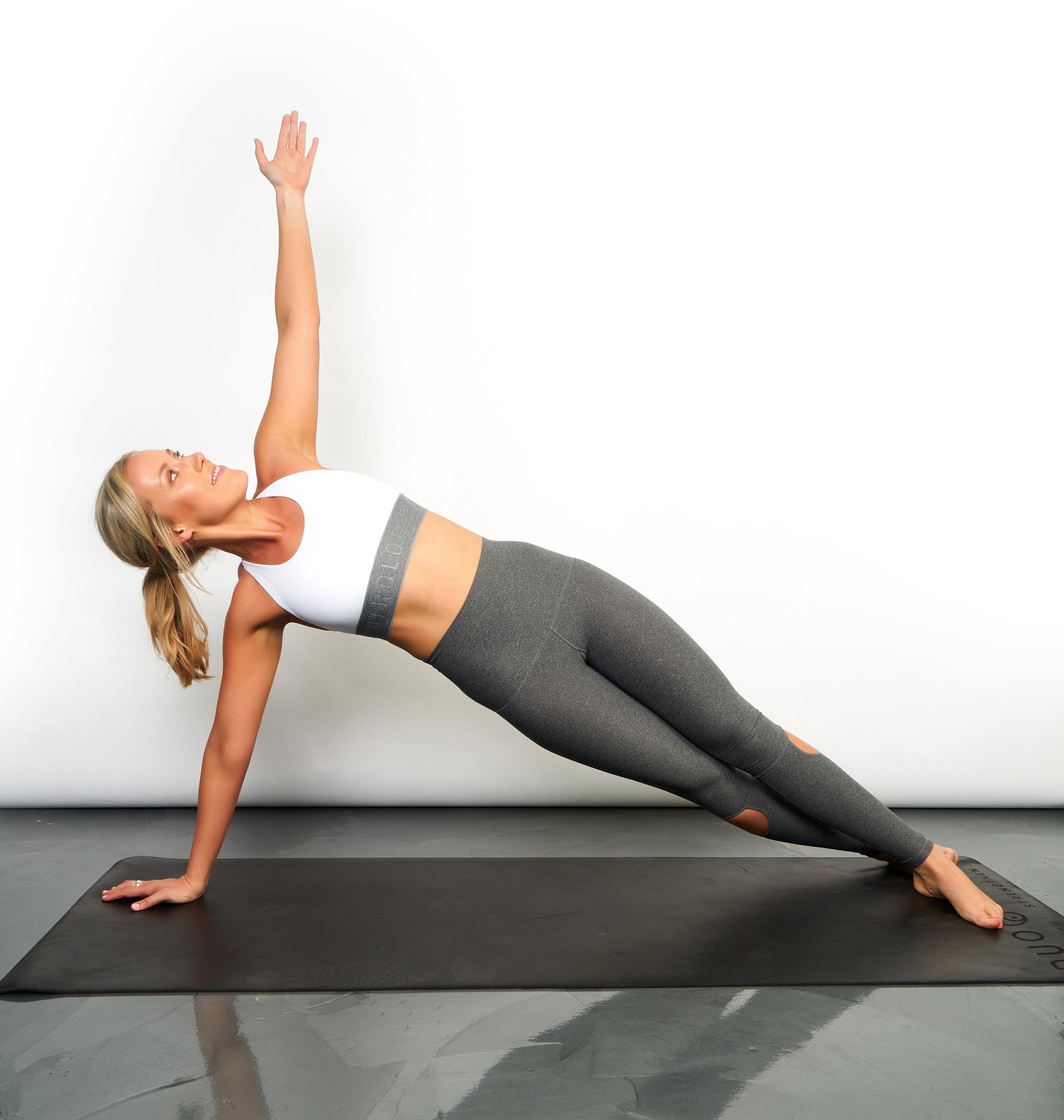 Sunken hips- common mistakes of planking