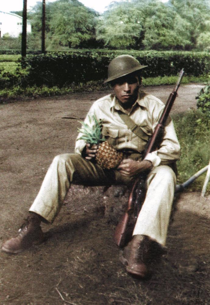 In Dedication - Maximino Razo Pearl Harbor - 1941(Donnie's Apache Nation Grandfather)