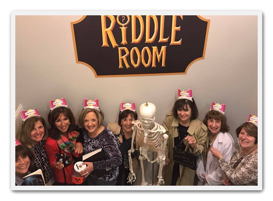 Team Up - Grab your team and tackle one of our rooms together.