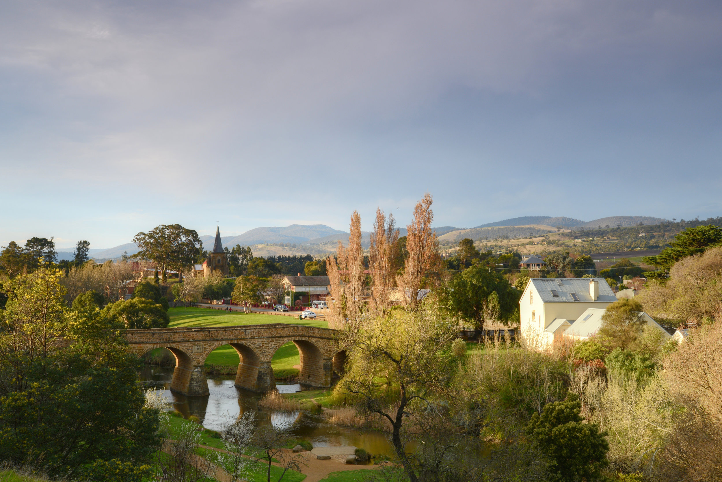 Richmond Bridge - Richmond Village. A fantastic colonial heritage area, with many buildings dating from the period & also some of the best preserved convict history in Tasmania