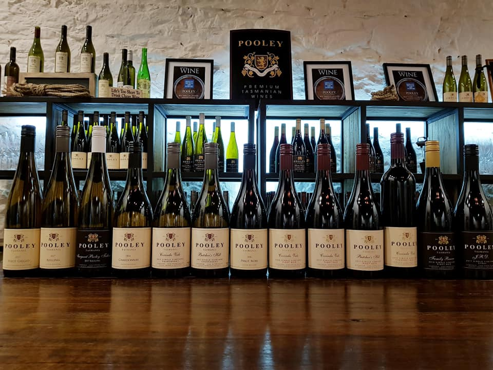 Pooley Wines - Cellar Door. The pooley family were some of the earliest to see the potential of the Coal River Valley, & now produce standout wines with a special focus on Riesling. But some damn good Pinot Noir too!!