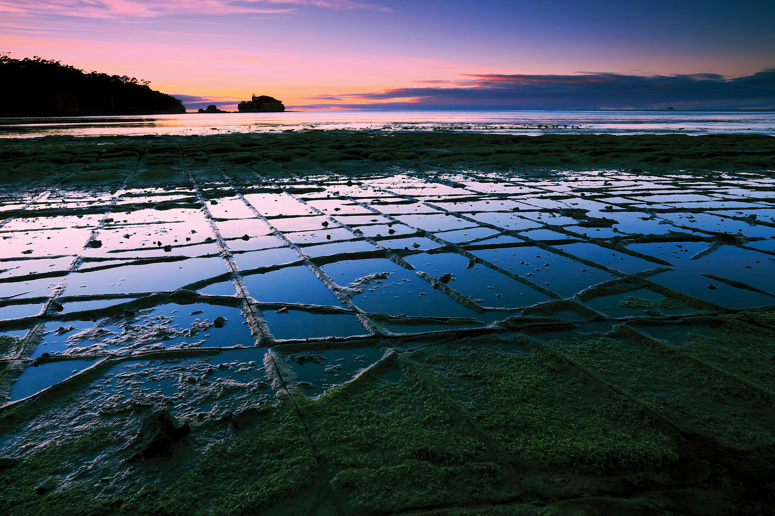 The tessellated pavement - a natural phenomenon that only happens in a few parts of the world.