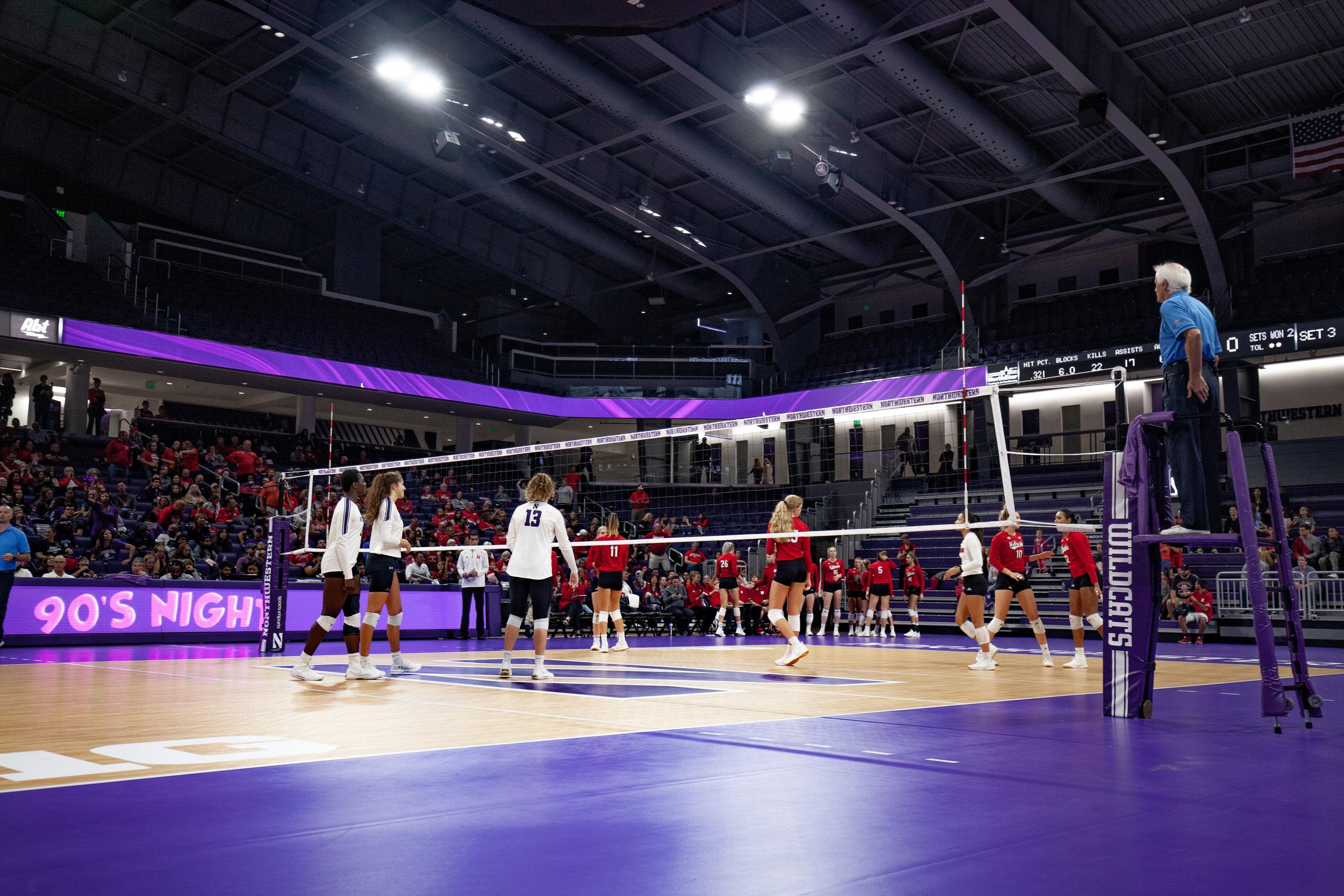 NU vs. Nebraska - Volleyball | 9.29.19