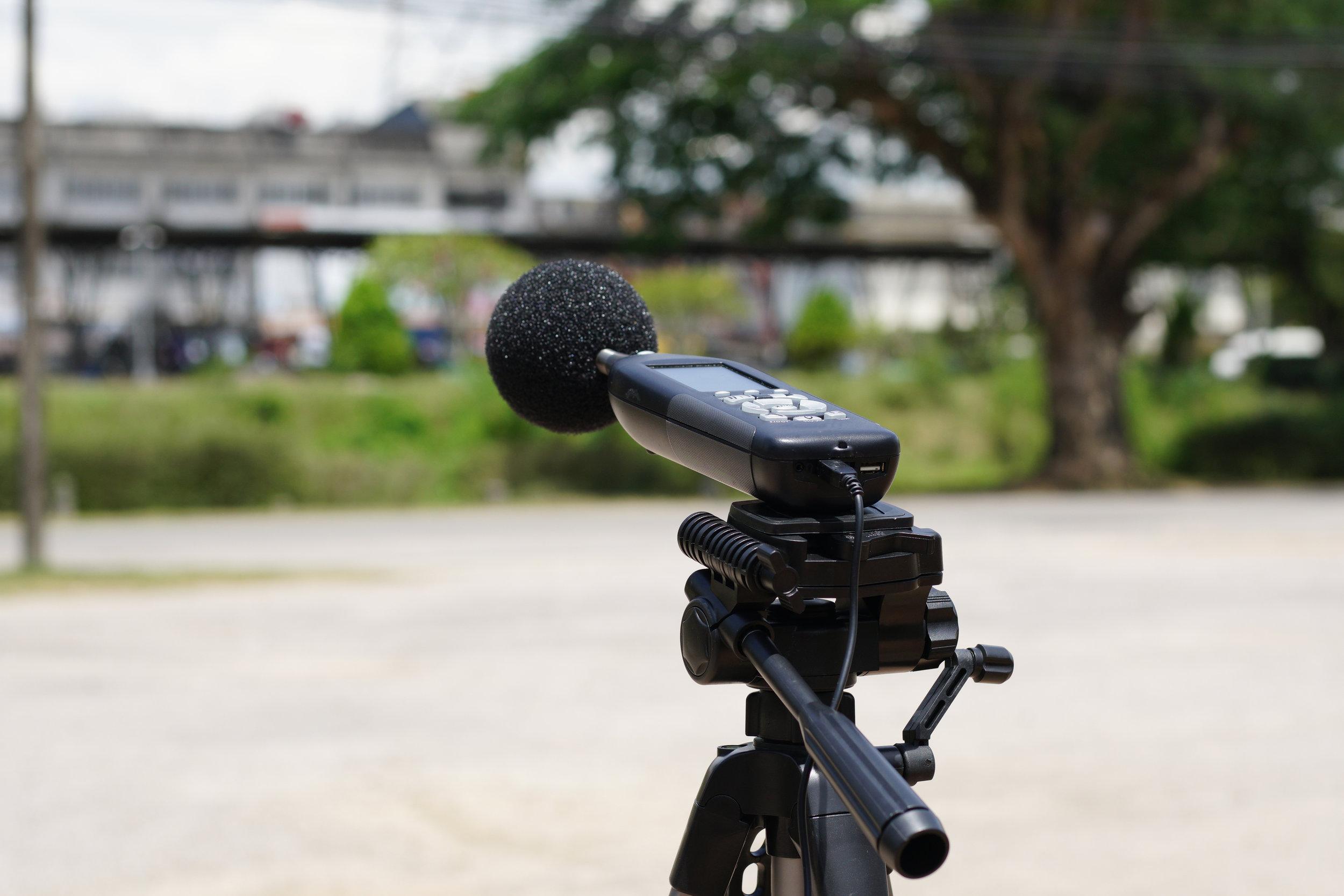 Acoustical services and noise surveys