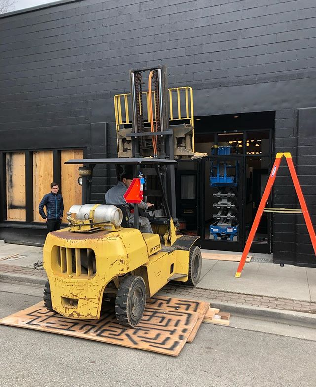 Installing the front entry @brijwaymetalfab built!