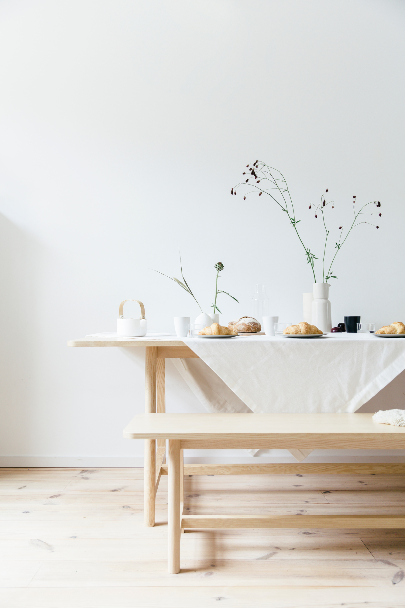Breakfast table | | photography & styling by Joske Simmelink