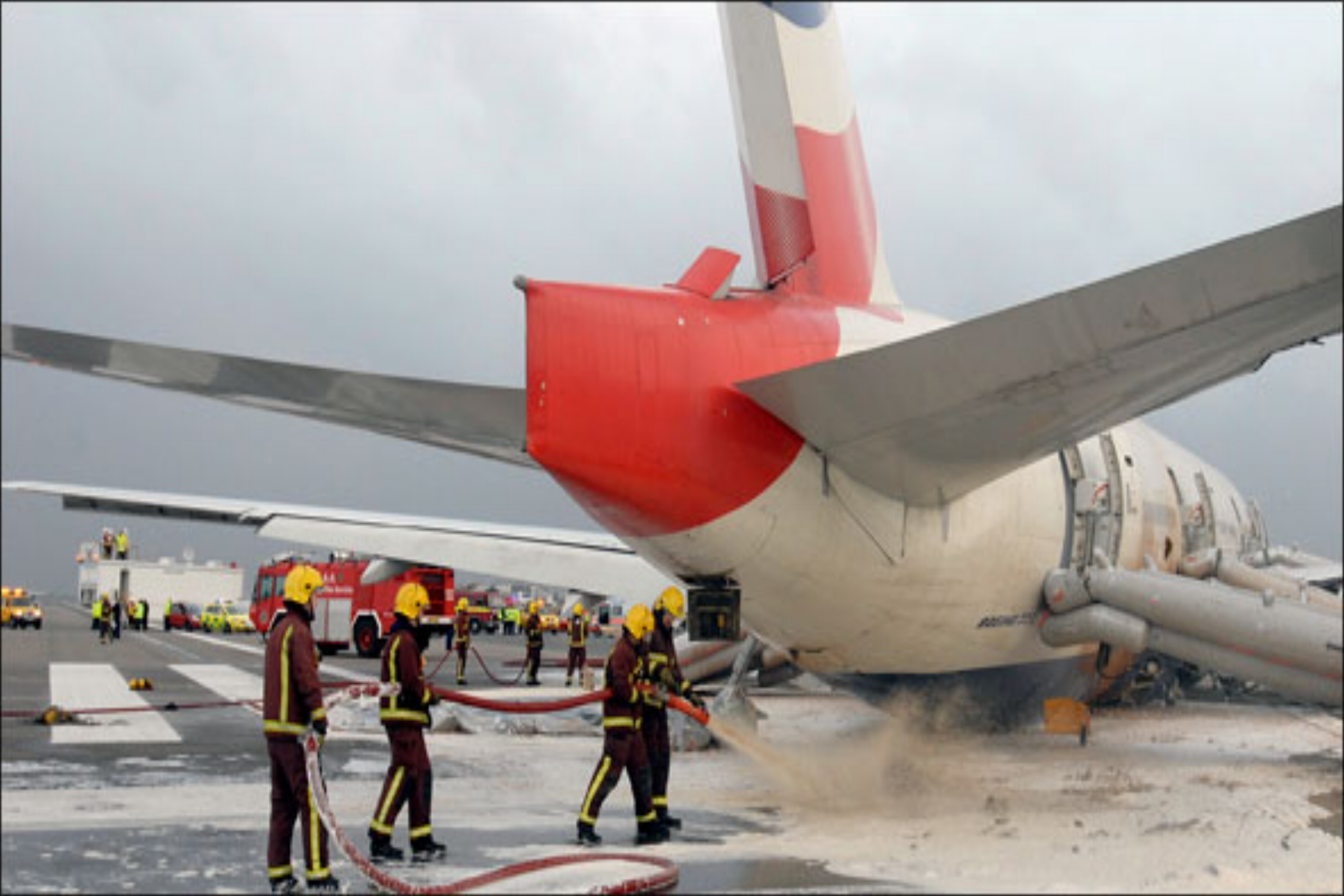 Aviation - Fire and rescue service provision, including planning, training, emergency response and equipment for military and domestic aircraft.