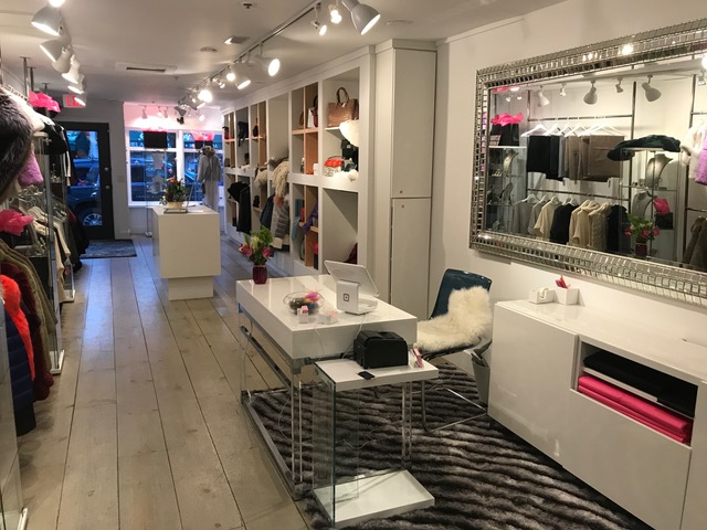 Inside the Meredith Marks Collective store.