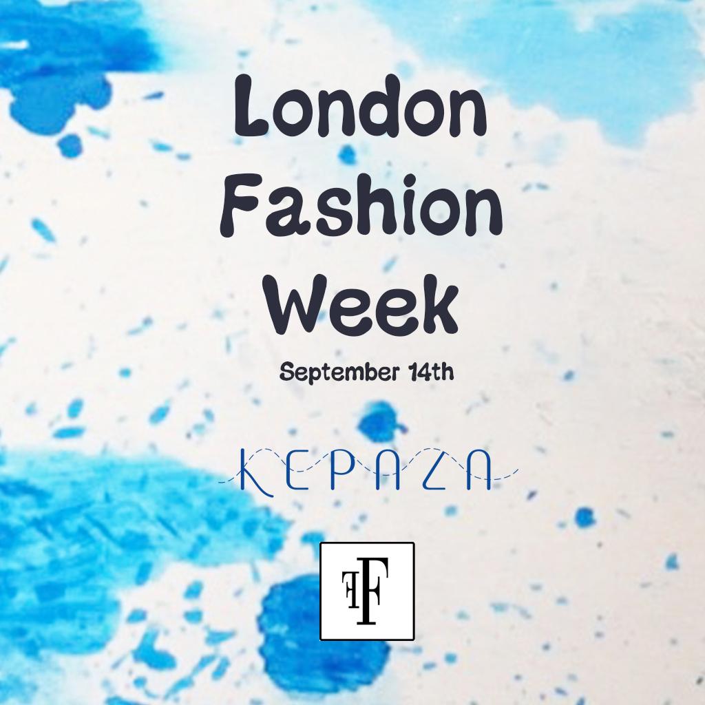 1 month to London Fashion Week
